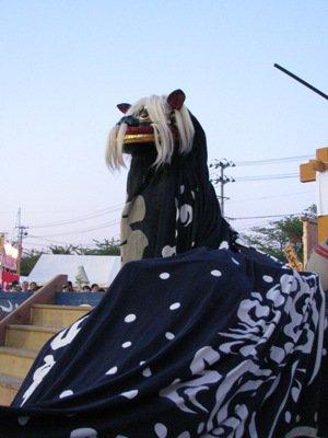【第23回ながい黒獅子まつり〜十日町 白山神社】:画像