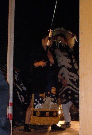 【第23回ながい黒獅子まつり〜森 津島神社】:画像