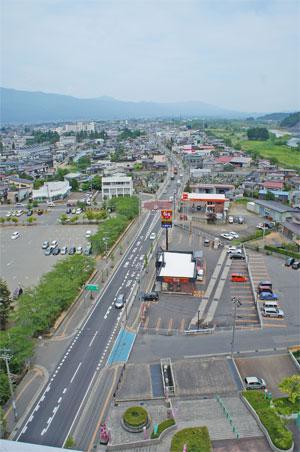 【長井市内を一望!】:画像