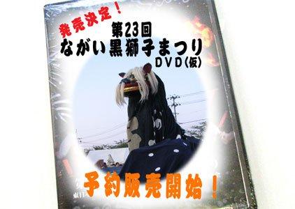 【第23回ながい黒獅子まつりDVD販売決定!】:画像