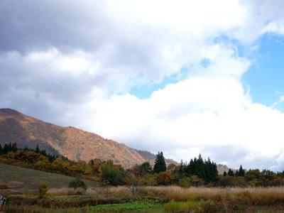 【秋の風景〜古代の丘】:画像