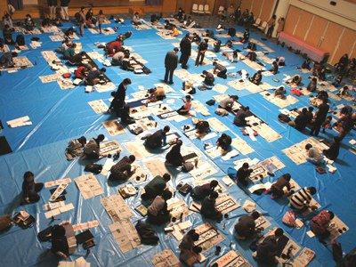 【第25回長井市内小中学校児童生徒書き初め大会】:画像
