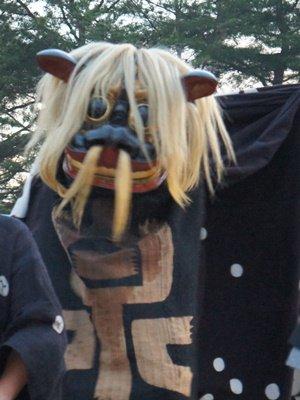 【第24回ながい黒獅子まつり〜泉 羽黒神社】:画像