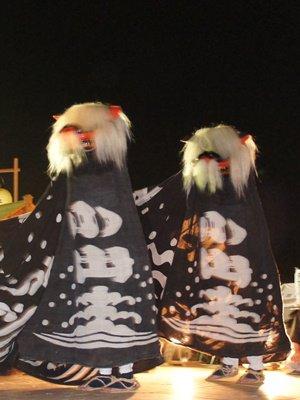 【第24回ながい黒獅子まつり〜小出 白山神社・皇大神社】:画像