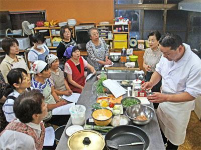 【とっておきのレシピ!行者菜料理教室】:画像