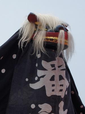 【第25回ながい黒獅子まつり〜中道 番神宮】:画像
