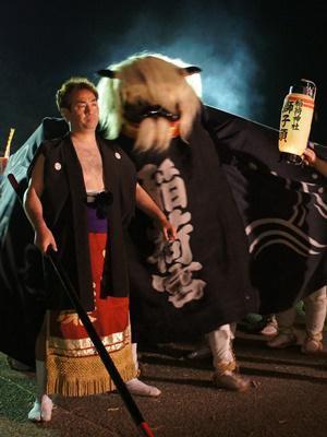 【第25回ながい黒獅子まつり〜九野本 稲荷神社】:画像