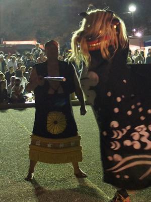 【第25回ながい黒獅子まつり〜宮 總宮神社】:画像