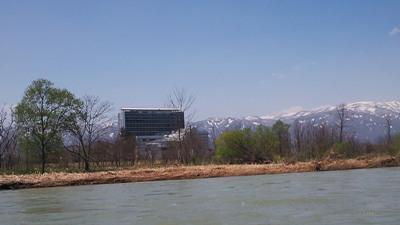 【最上川桜遊覧船に乗ってきました♪】:画像