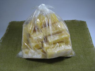 【冬季限定!大石の凍み豆腐】:画像