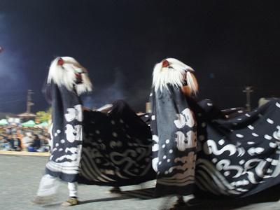 【第27回ながい黒獅子まつり〜白山神社・皇大神社(小出)】:画像