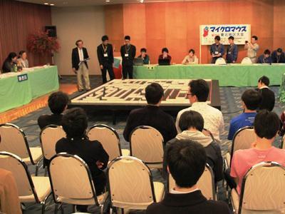 【第29回マイクロマウス東北地区大会、無事終了!】:画像