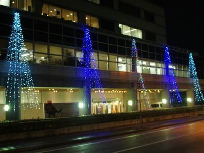 【もうすぐクリスマス♪…輝くイルミネーション!】:画像