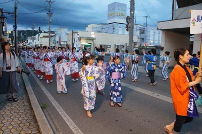 【晴れやかに♪ 長井おどり大パレード】:画像
