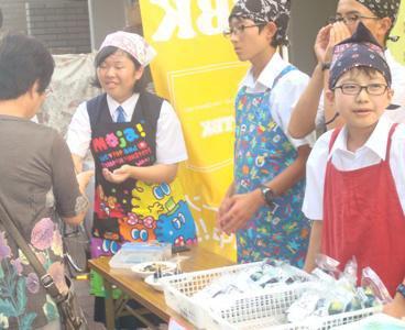 【北中・南中の2年生が東京で販売体験にチャレンジ】:画像