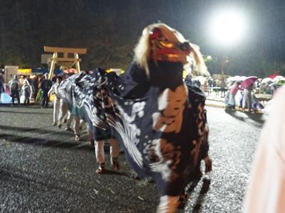 【第29回ながい黒獅子まつり−總宮神社(宮)−】:画像