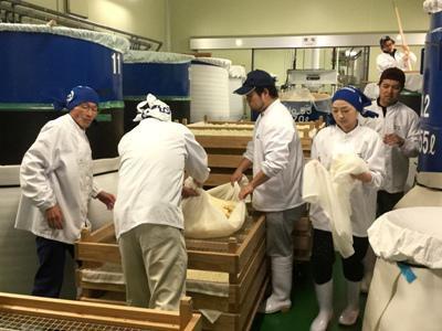 【鈴木酒造で日本酒仕込み体験】:画像