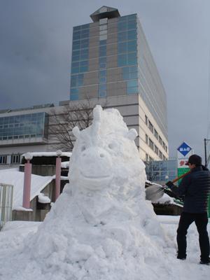 【第16回ながい雪灯り回廊まつり、開催!】:画像