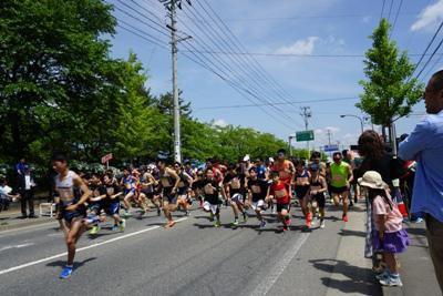【白つつじマラソン大会開催】:画像