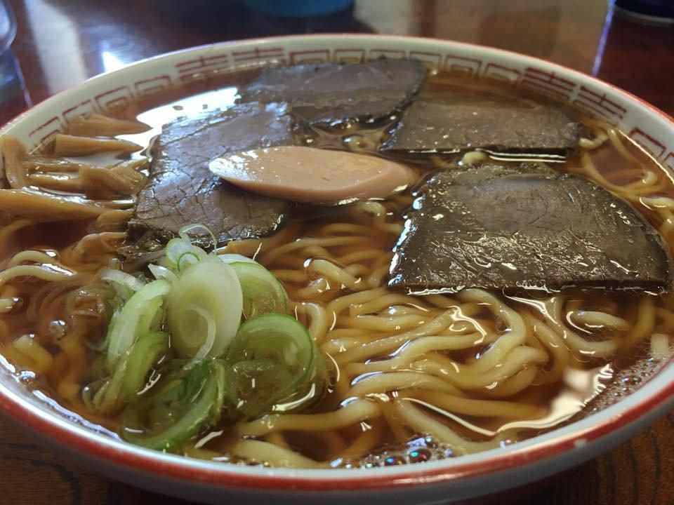 長井市《かめや》馬肉ラーメン:画像