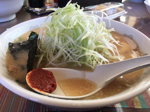 長井市《味噌蔵壱麺》の白味噌ねぎラーメン:画像