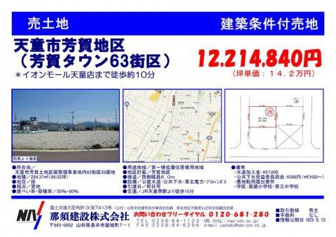 芳賀タウン63街区28:画像