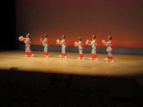 ちびっこ花笠舞踊教室発表会に行ってきました!:画像