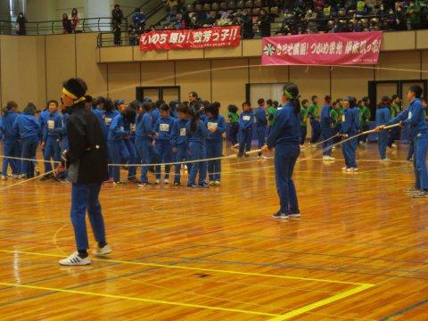 第36回長井市少年少女なわとび大会開催!:画像