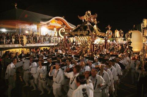 【寒河江まつり】神輿の祭典:画像