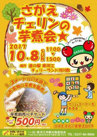 チェリンの芋煮会☆:画像