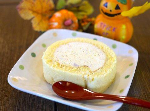 かぼちゃの豆乳ロール&コロッケ:画像