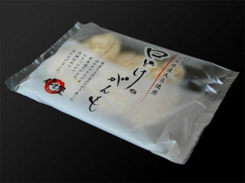 山形県産大豆を使った新食感「口どけがんも」:画像