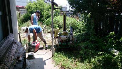 東仙台Y様邸〜擁壁工事に伴う地盤調査〜:画像