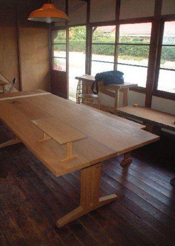 【テーブル製作現場見学会7/16】 郡山市富久山・ドミノA邸:画像