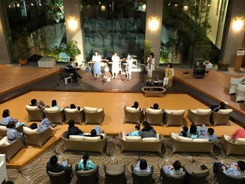 お休み前のひとときに....オカリナ演奏会を開きました :画像