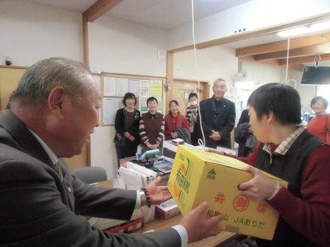 山辺町民生委員児童委員の皆様が「あおぞら」を訪問されました。:画像