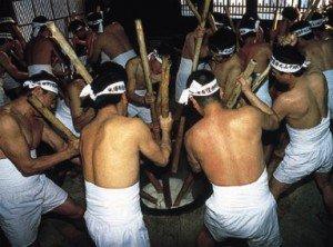 保呂羽堂の年越し祭:画像