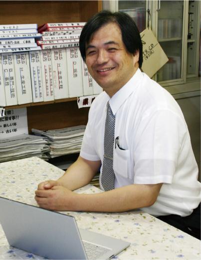 進路指導課 遠藤英先生