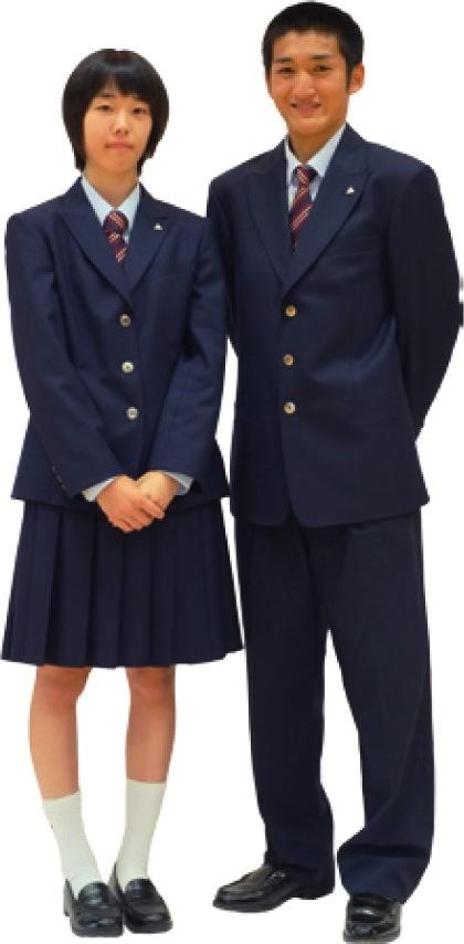 九里の制服:冬服