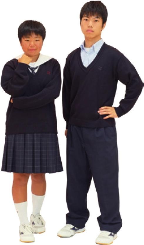 九里の制服:カーデ