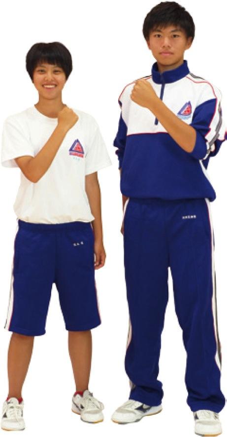 九里の制服:体育着