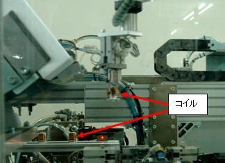 半田・フォーミング・リードカットの機械