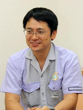 経営企画部、総務・人事兼広報グループのグループリーダー石川慎太郎さん