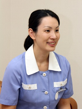 経営企画部、総務・人事兼広報グループの角川千佳さん