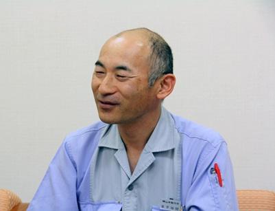 経営企画部の情報グループ、金子裕昭さん