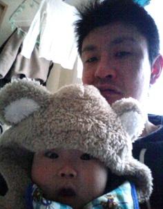 育休を取得した黒澤賢太郎さんと奥山友勝さん