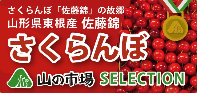 さくらんぼ「佐藤錦」の故郷、山形県東根市産「佐藤錦」