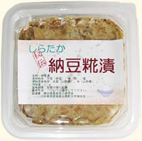 しらたか納豆糀漬/130g