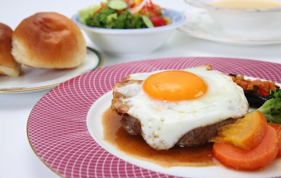 米沢牛ハンバーグのコース〈120g〉
