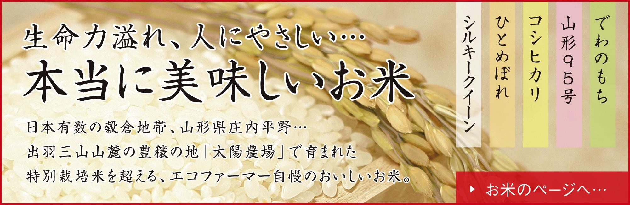 本当に美味しいお米